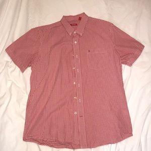 Izod Short Sleeve Button Up